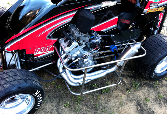 Travis Senters R6 Motor In His 2012 Car